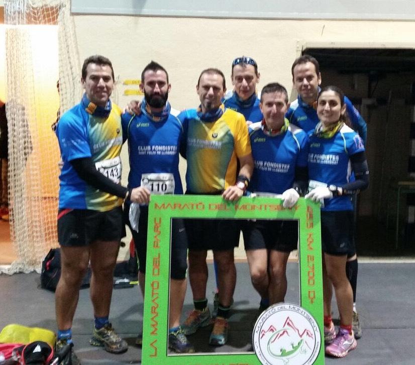 Fondistes Sant Feliu a la Marató del Montseny