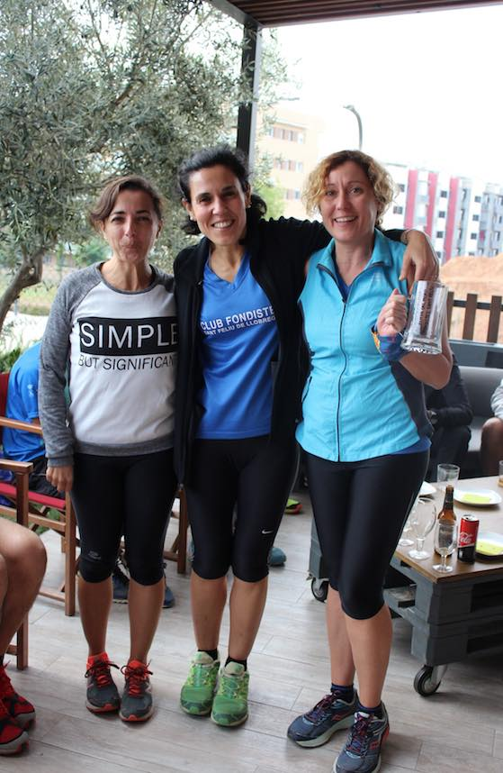 3 Primeres classificades femeni